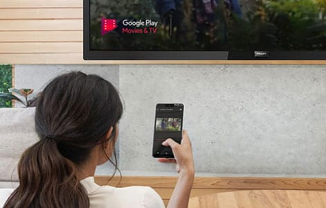 aplikacije chromecast built-in