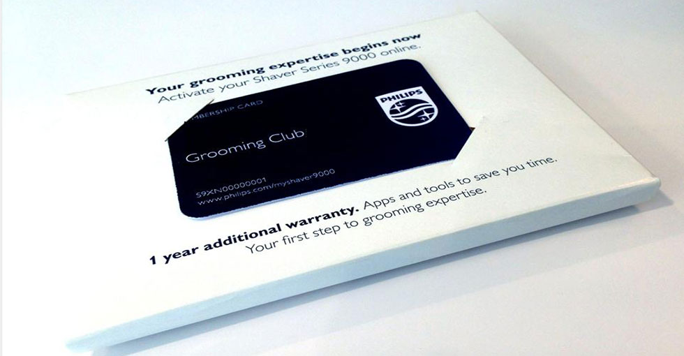 Grooming Club Card