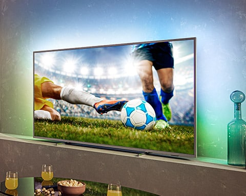 Experience Philips Ambilight Television
